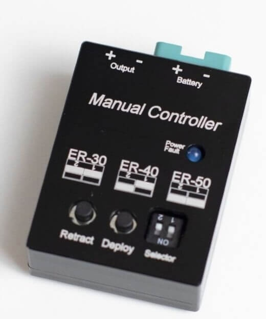Manual Gear Controller (Electron)