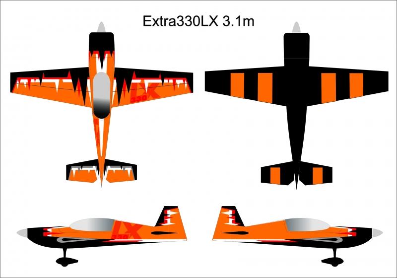Extra 330LX 3m